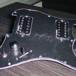 HH Loaded Pickguard Humbuckers Wilkinson WHHB Alnico V pour Stratocaster