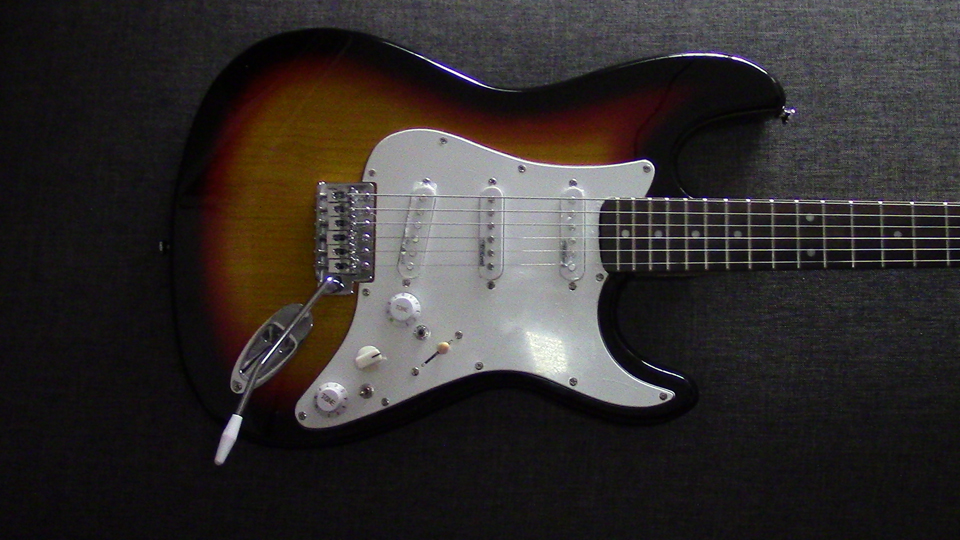 SSS Custom Stratocaster 9 Way Switching – Half Out-Of-Phase Option ...