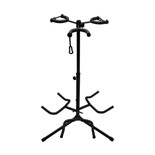 Adjustable Multi Guitar Stand 3 Holders String Instrument Floor Tripod Bracket