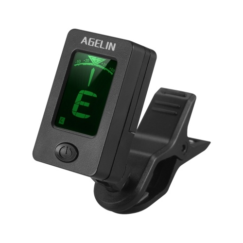 Multifunctional Clip-On Tuner LCD Display