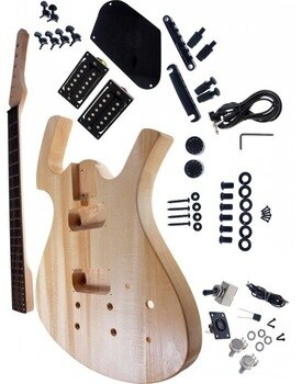 Free shipping parker electric guitar kit/unfinish guitar/Diy electric guitar